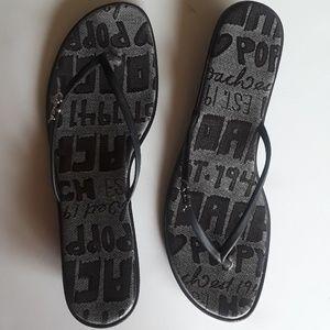 Coach thong sandal